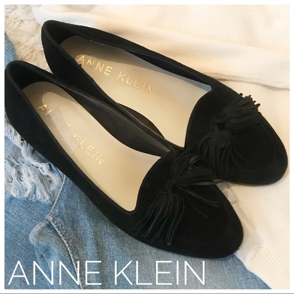 7c4e49bd941 Anne Klein Shoes -  Anne Klein  Darcy tasseled leather suede loafers